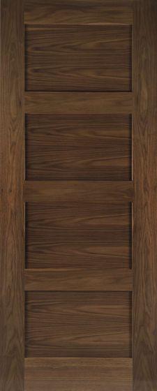 Coventry 4 Panel Walnut Internal Fire Doors (FD30)