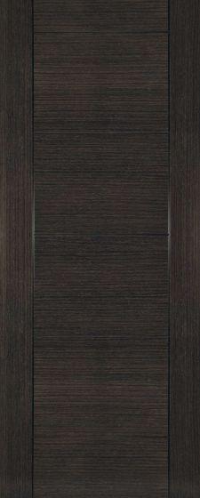 Montreal Dark Grey Ash Veneer Internal Fire Door FD30