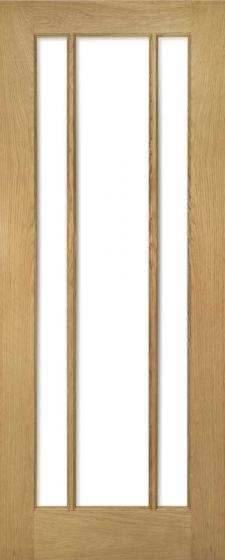 Norwich Oak Beveled Glazed Internal Doors