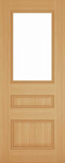 Windsor Oak Pre-Finished Clear Bevelled Internal Door